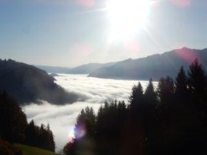 Nebel im Ennstal