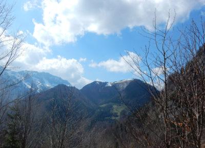 Sengsengebirge (links) und Rotgsol (rechts)