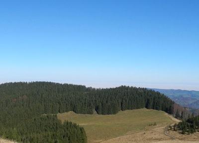 Ausblick vom Schneeberg Richtung Norden