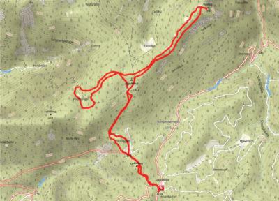 Route Haslersgatter - Steyreck