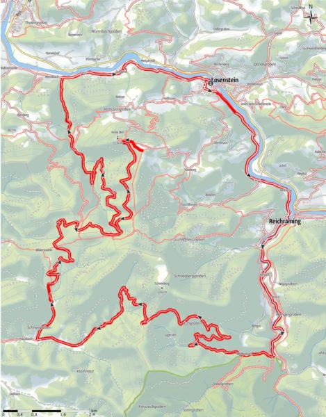 Schneebergrunde: Route