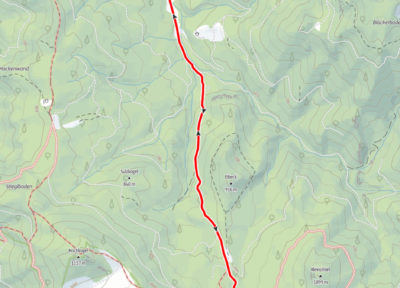 Route Brunnbach - Hrischkogelsattel - Anlaufalm