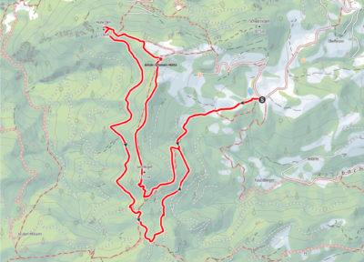 Route Sonnkogel und Hohe Dirn