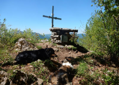 Das Gipfelplateau am Rotstein