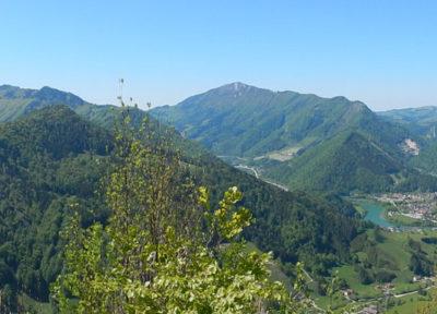 Panoramablick von Rotstein-Gipfel