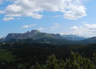 Panorama auf der Hochebene
