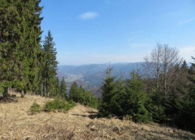 Der Weg zum Gipfel - Ausblick nach Südosten