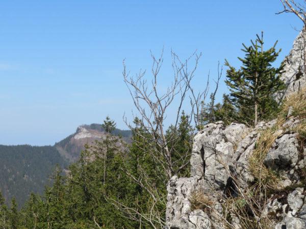 Ausblick nach Osten zur Lindaumauer